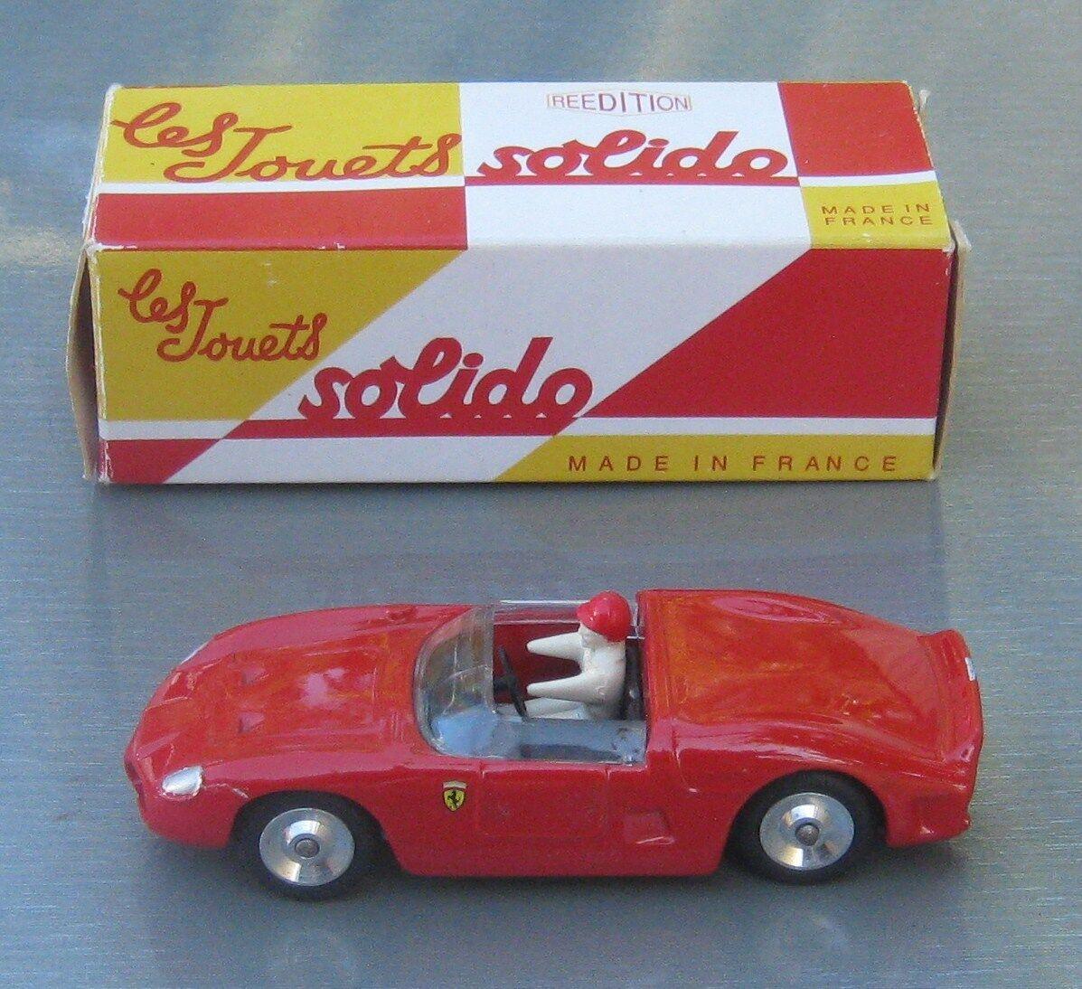 Solido 129 Ferrari 2L5 Racing Car