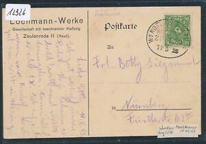 12326) Bahnpost Ovalstempel Werdau-mehltheuer Train 2243, Fa. - Carte 1923-afficher Le Titre D'origine