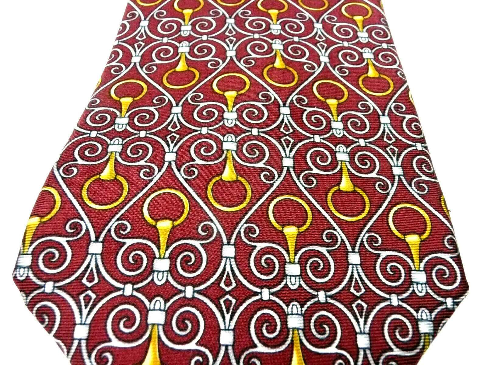 Vintage GUCCI Silk Tie. New Old Stock. Made in It… - image 8