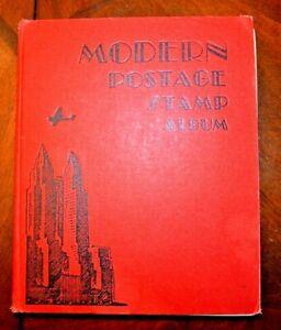 CatalinaStamps-Modern-Postage-Stamp-Album-Scott-1944-w-3400-Stamps-Lot-D52