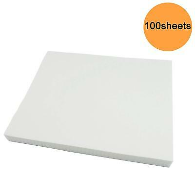 500 Precut Sheets of Tear Away Machine Embroidery Stabilizer Backing  Medium
