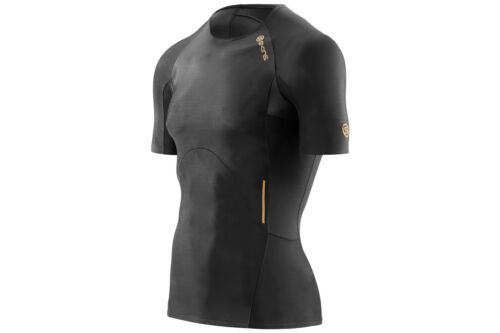 Skins Mens A400 Compression S//S Top Sports Training Workout