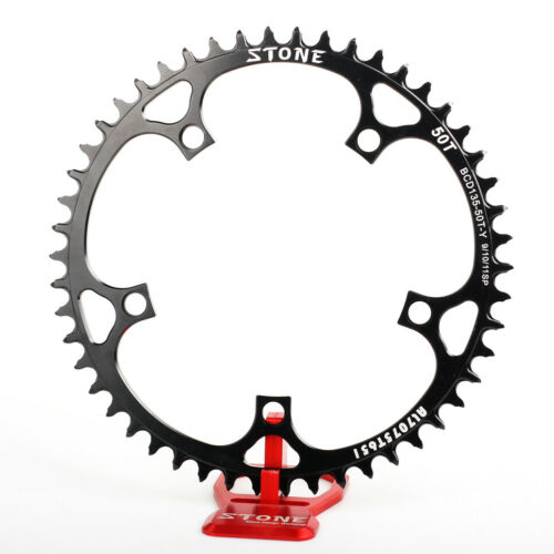 Lightweight Circle Chainring Narrow Wide 42T to 60T For BCD135 Campagnolo Crank