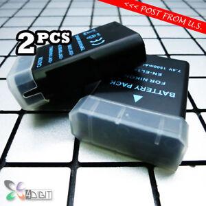 2PCS-of-1500mAh-EN-EL14-EL14a-ENEL14-ENEL14a-Battery-for-Nikon-D5300-D5500-D5600