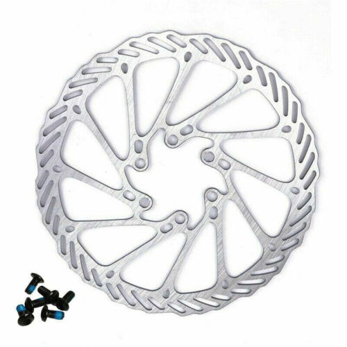 1Pc 160//180mm Bike Bicycle Disc Brake Rotor MTB For Shimano Sram with 6 Bolts #s