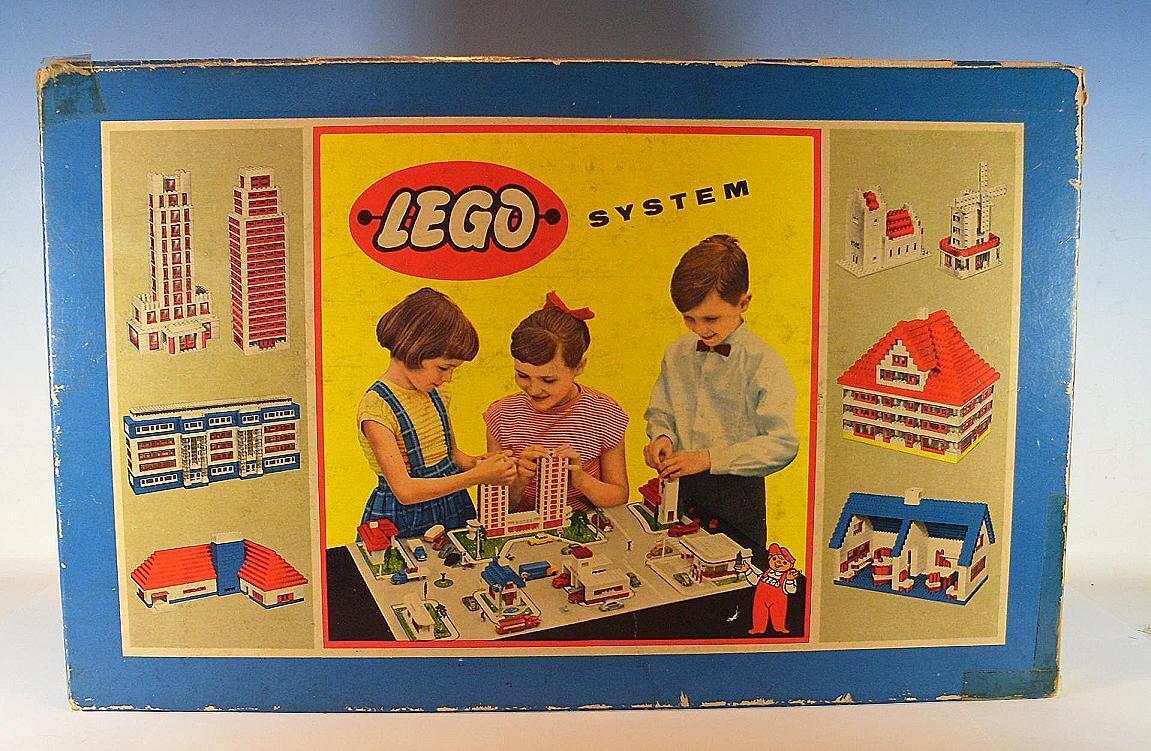 Lego sistema inmemorial nº 614 comerciantes venta Display para ventanas en o-box 60er JH
