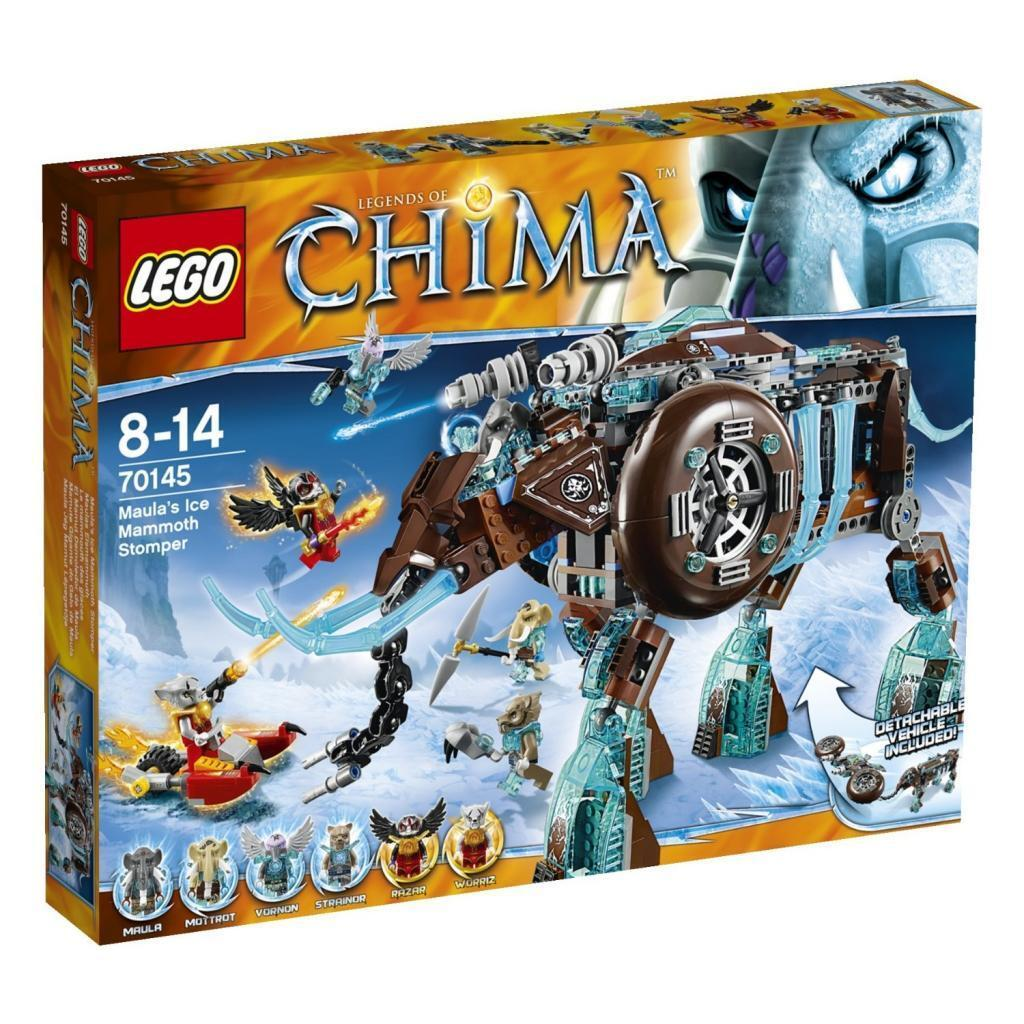 Brand New   Lego Cima Maura Ice Mammoth 70145 Best Deal From Japan