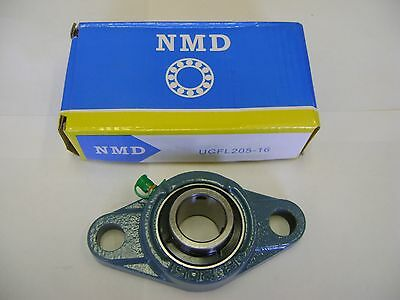 """2 NMD BRAND EXCELLENT QUALITY UCFL205-16 1"""" MOUNTED UNIT BEARINGS"""