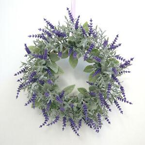 Kranz-Lavendel-Tuerkranz-Wandkranz-Tischkranz-Kranz-Dekokranz-ca-30-cm