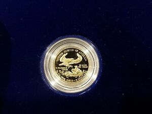 1991 1/10 ounce go proof