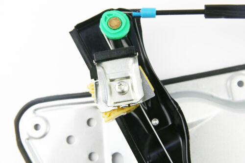 PASSAT mk6 B6 électrique régulateur fenêtre avant droite pilote uk côté avec plaque