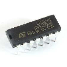 S.T. LM324N Op Amp Quad Low Power Integrated Circuit 5 pieces OM0024