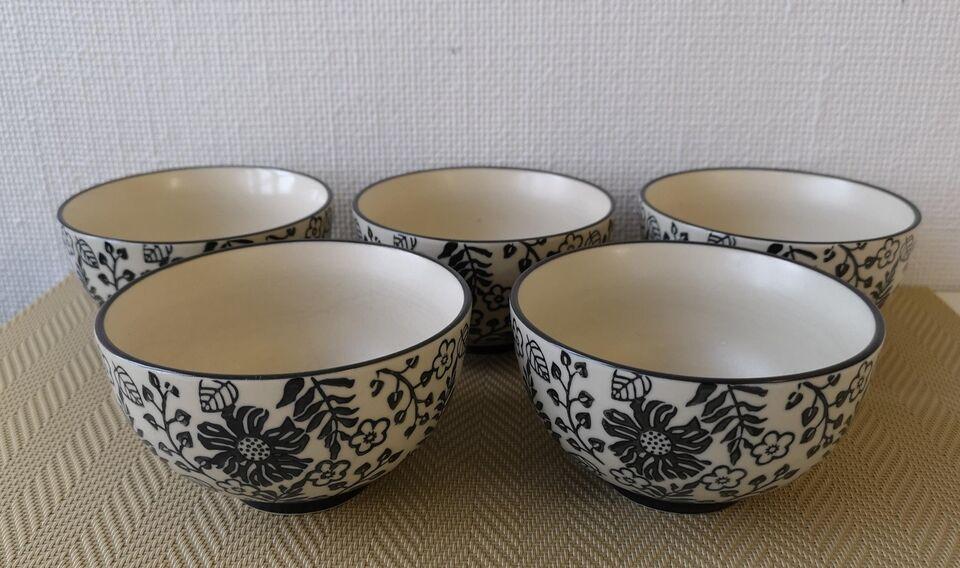 Keramik, Skåle, Handmade from Bahne