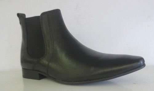 Base London Arthur MTO Herren (Kett Wachsartig schwarz Stiefeletten (38a) (Kett Herren ) 22450a