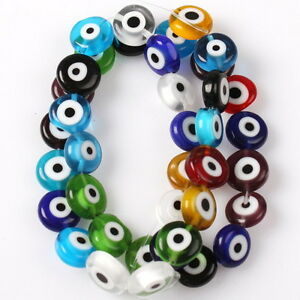 1String-Mix-Colorful-Evil-Eye-Glass-Beads-10mm-110635