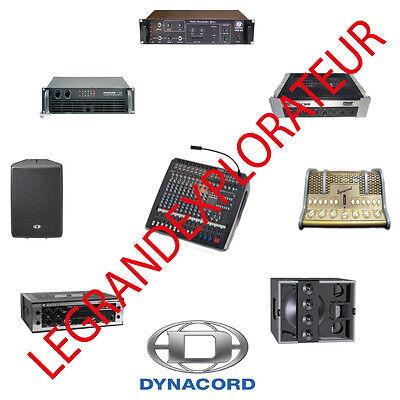 Ultimate Dynacord Service repair manuals & schematics (250 PDF manual on  DVD) | eBay