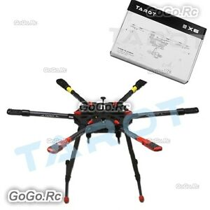 Details about Tarot X6 Hexacopter Frame Kit Folding Arm w/ Electronic  Landing Gear - TL6X001