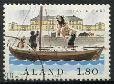 Creative Aland Islands 1988 Sg#30 Postal Service 350th Anniv Used #a83905 Delicacies Loved By All