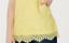thumbnail 3 - Isaac-Mizrahi-Live-Floral-Knit-Lace-Tank-Top-w-Scallop-Hem-Citron-1X-A376652