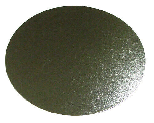 "100 x 14"" Inch Round Silver Cake Board 3mm DOUBLE THICK"
