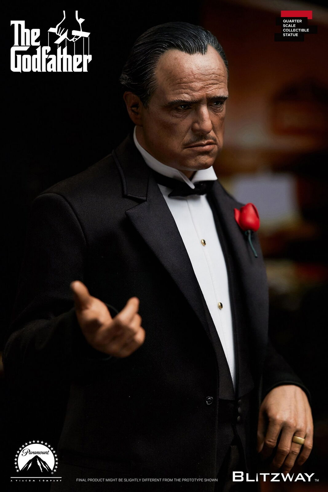 Blitzway 1/4 BW-SS-20301 The Godfather 1972 Ver Vito Corleone Art Statue