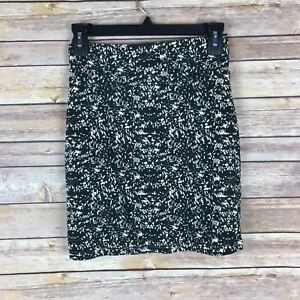 Forever-21-Womens-Skirt-Cotton-Stretch-Mini-Bodycon-Pull-On-Elastic-Waist-Size-M