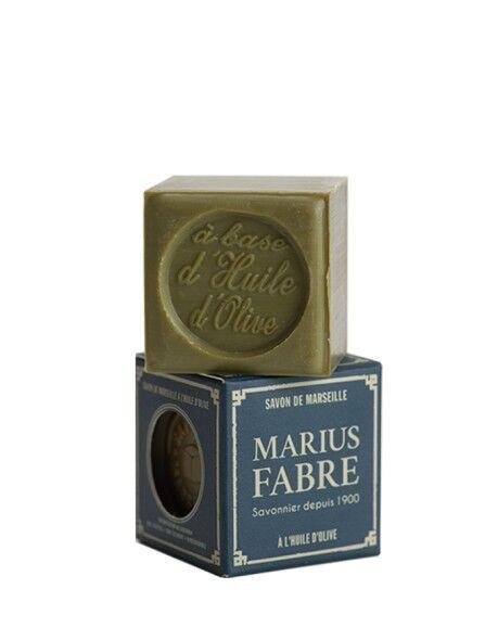 Marius Fabre Savon de Marseille à l'huile d'olive 400g Cube(s) - En boîte