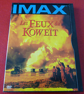 DVD-IMAX-Movie-Les-Feux-du-Koweit-Original-Version-Fires-of-Kuwait