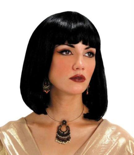 CLEOPATRA EGYPTIAN VENDETTA V BLACK WIG COSTUME MR179011