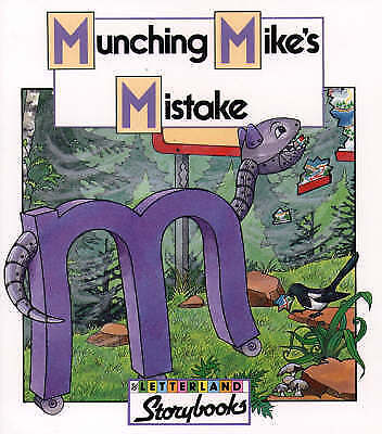 Munching Mike's Mistake (Letterland Storybooks)