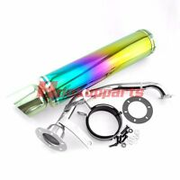 Gy6 125cc 150cc Scooter High Performance Exhaust Perforated Racing Muffler