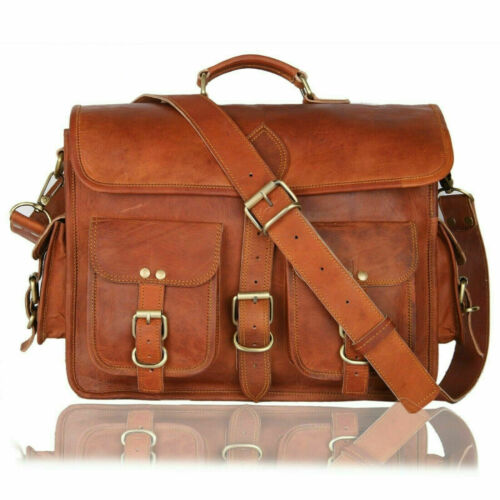 Genuine Leather Messenger Bag For Women Christmas Day Gift Office Briefcases JSV