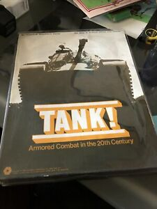 SPI Wargame Tank! Armored Combat In The 20TH Century