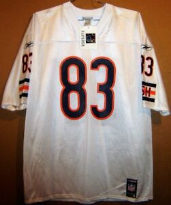 CHICAGO BEARS DAVID TERRELL WHITE NFL JERSEY BY REEBOK IN SIZE EXTRA ... d0fcd76fa