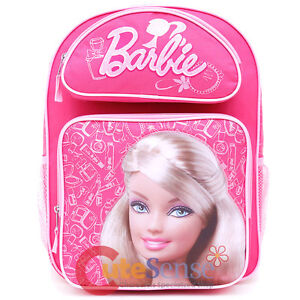 Image Is Loading Barbie Backpack 16 034 Large School S Book