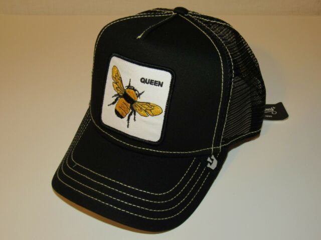 Queen Bee Mesh Caps Adjustable Unisex Snapback Trucker Cap