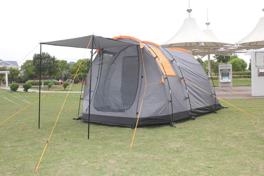 SAXUR Alaska Tenda Famiglia Tenda da campeggio Tenda 3 persone NUOVO  5000mm