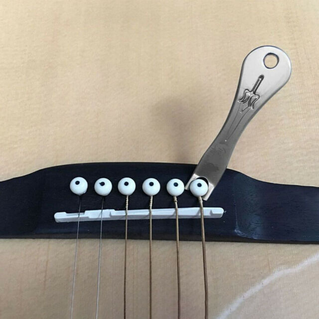 Acoustic Guitar String Nail Peg Pulling Puller Bridge Pin Remover Handy Tool sq