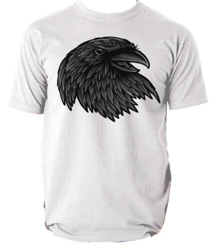 RAVEN T shirt Animal BIRD mens t-shirt tee S-3XL