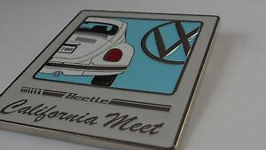 VW  Beetle grill badge emblem VW Bug grill badge emblem enamel badge 1938-2003