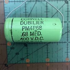 Cornell Dubilier Axial Film Capacitor 0.015uF 600v WMF6S15 .015uF AUDIO 4pcs