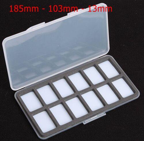 Slimline magnétique 12 Compartiment Fly Box Wa