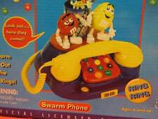 M & M'S SWARM PHONE - COLLECTIBLE NOVELTY- NEVER USED
