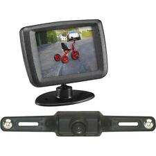 "AUDIOVOX ACA240 WIRELESS CAR LICENSE PLATE REAR VIEW BACK UP CAMERA 2.5"" MONITOR"