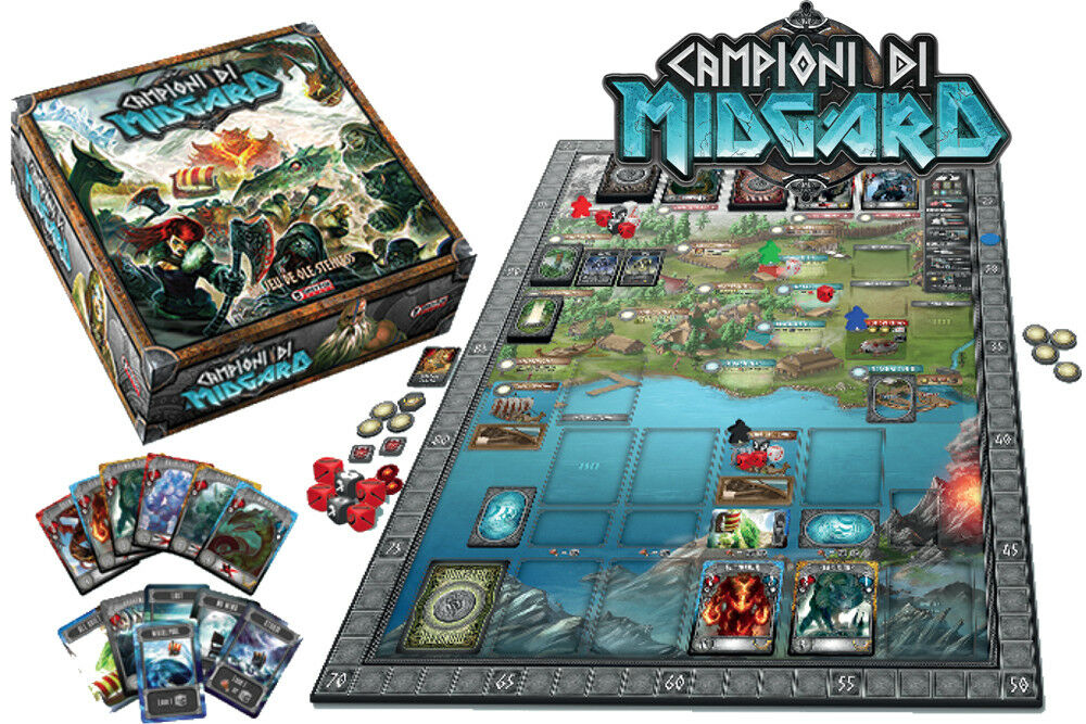 Campioni di midgard gioco da board [italiano] do not panic games