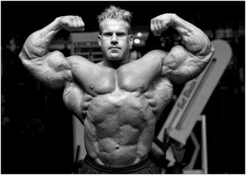 Jay Cutler Muscle Bodybuilding Gym Large CANVAS Art Print A0 A1 A2 A3 A4