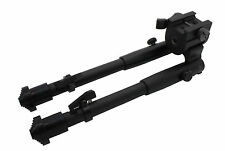 Tactical Rifle Bipod Button Lock 8.5 to 10.5 Adjustable QD Picatinny Rail Mount