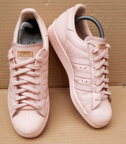 Pink 80er Adidas UK Turnschuhe Superstar Mi 7 Custom Rose Vapor Größe FYwwnOAx