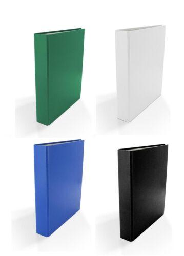 4x Ringbuch // DIN A5 // 4-Ring Ordner //  Farbe: je 1x rot weiß blau grün