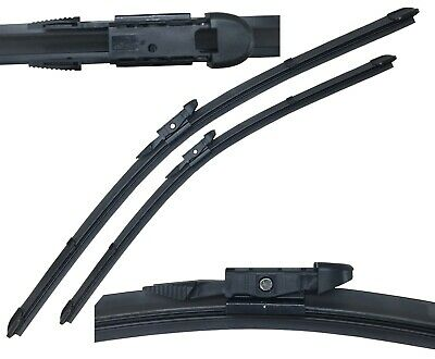 "FOR AUDI TT COUPE MK2 2006 ON DIRECT FIT FRONT AERO WIPER BLADES PAIR 22/"" 21/"""